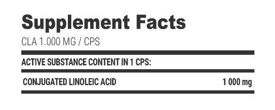 Extrifit CLA 1000 mg 100 kaps