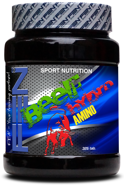 FEN Beef amino hydro 325 tab.
