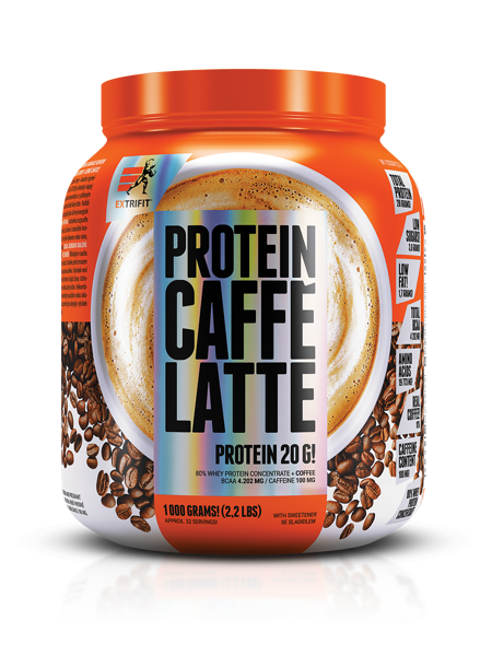 Extrifit Protein caffe latte 1000 g.